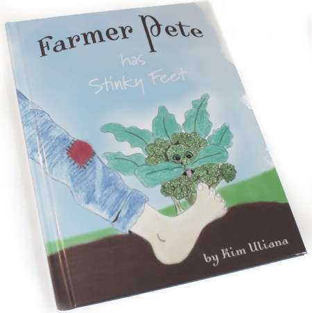 Farmer Pete Has Stinky Feet by Kim Uliana is a cute, funny and educational book filled with silly puns and adorable illustrations.
