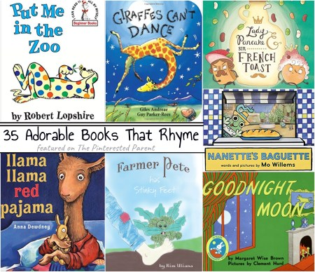 35 Children's Picture Books that Rhyme