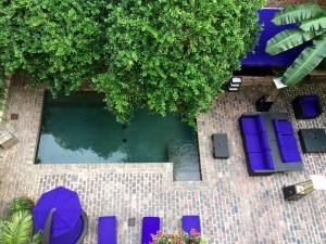 Pool and Courtyard at Hotel Le Marais in New orleans