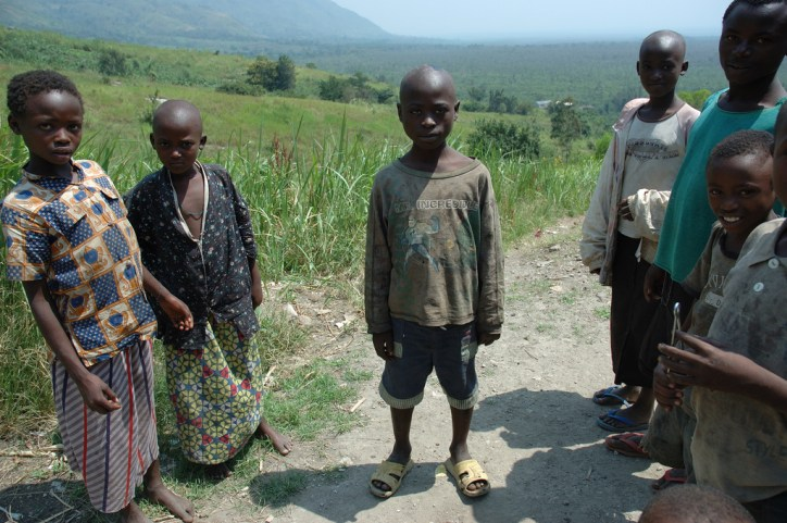 Locals of the Congo in Virunga National Park