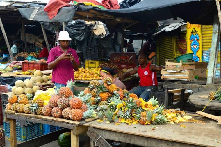 On Assignment in Cartagena's Local Mercado de Bazurto