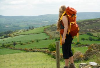 Trekking the Wicklow Mountains in Ireland