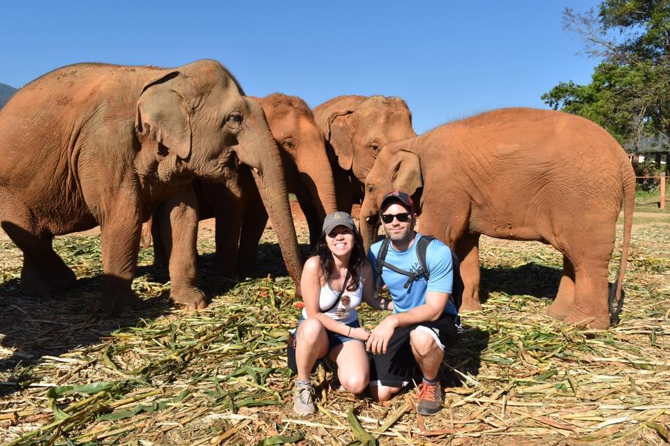 Elephant Nature Park in Chiang Mai, Thailand   © Nikki Vargas