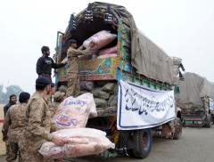 Relief activities by Army
