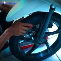 Penyebab laher atau bearing roda motor cepat rusak.