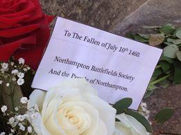 Battle of Northampton Commemoration 10 July 2014 Courtesy NBS