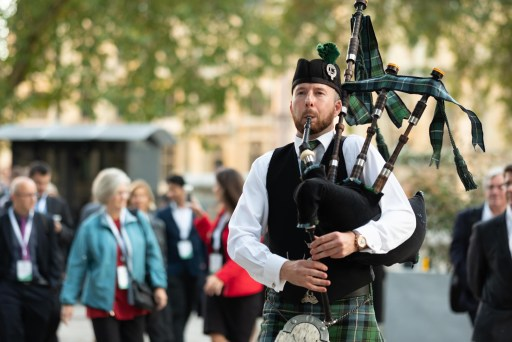 Matthew McRae - Bagpiper for hire in Somerset