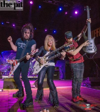 Lita Ford in Sturgis SD on 8.7.16