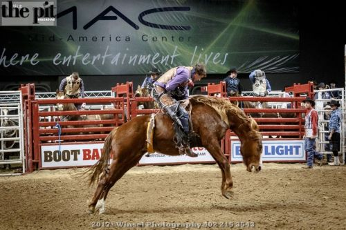 The PRCA Rodeo – Mid America Center – Council Bluffs – 1.14.17