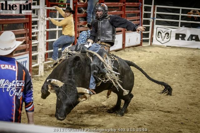 The Pit Magazine, Winsel Photography, Winsel Concertography, PRCA Rodeo, MidAmerica Center, Council Bluffs, Iowa