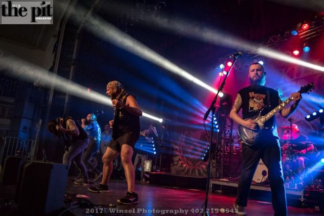 The Pit Magazine, Winsel Photoraphy, Winsel Concertography, Killswitch Engage, Killthrax Tour 2017, Sokol Auditorium, Omaha, Nebraska