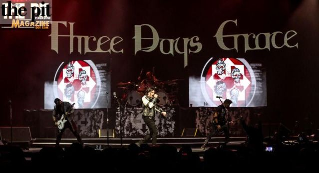 Three Days Grace – Lincoln NE – 1.22.19
