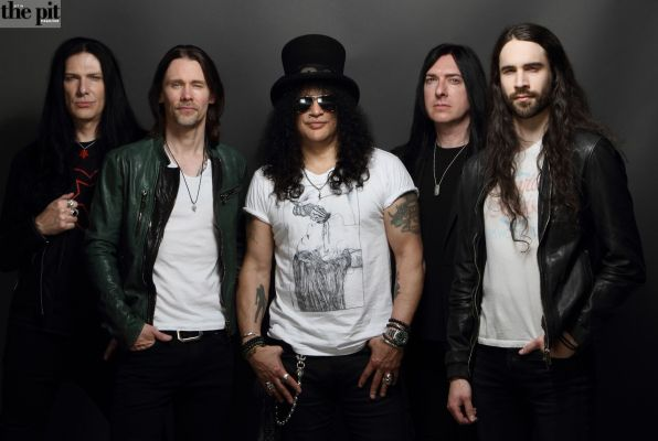 "SLASH FT MYLES KENNEDY AND THE CONSPIRATORS: RELEASE NEW VIDEO ""BOULEVARD OF BROKEN HEARTS"""