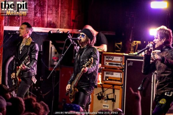 Buckcherry – Lincoln Nebraska – 6.2.19
