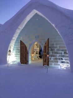 Hotel de Glace - Quebec City's Ice Hotel