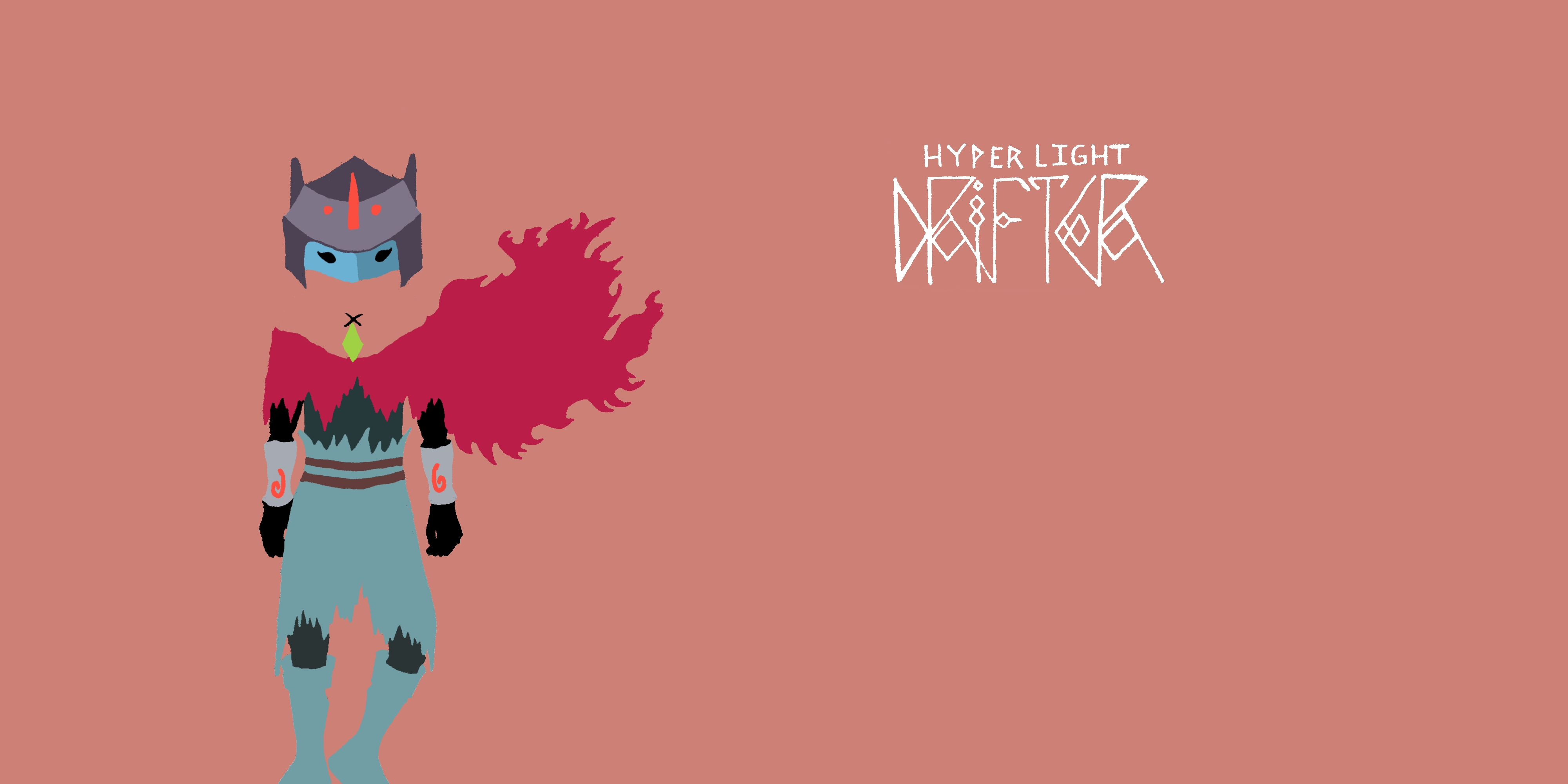 Minimalist Hyper Light Drifter Wallpapers