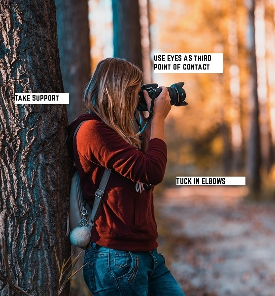 Camera Holding Posture for Photographers