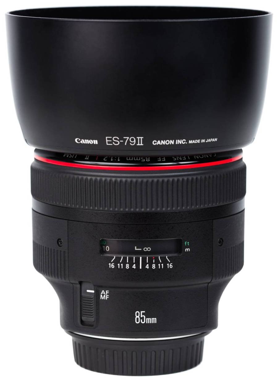 best canon lens for newborn photography
