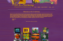 Art to Harmony Website Design