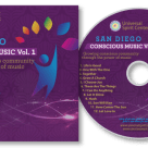 CD Label and Four-Page Booklet Insert for a Non-Profit Fundraiser