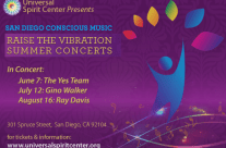 Postcard for San Diego Conscious Music Summer Series