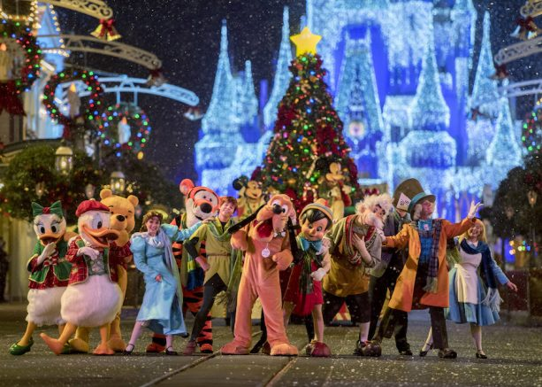 Tickets Now Available for Magic Kingdom Holiday Parties