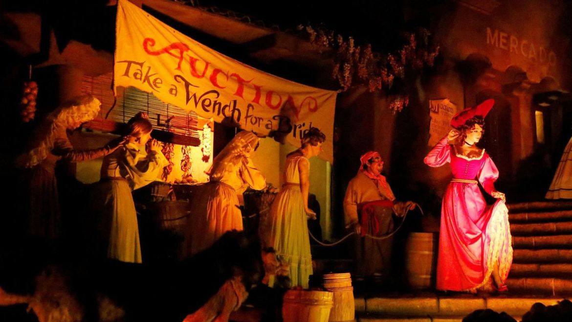 "Last Remaining ""Redhead"" from Pirates of the Caribbean Gone Soon"