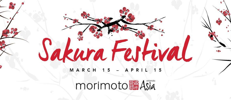 The Sakura Festival at Morimoto Asia Adds Pazazz to Disney Springs