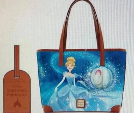 Cinderella Dooney and Bourke Tote