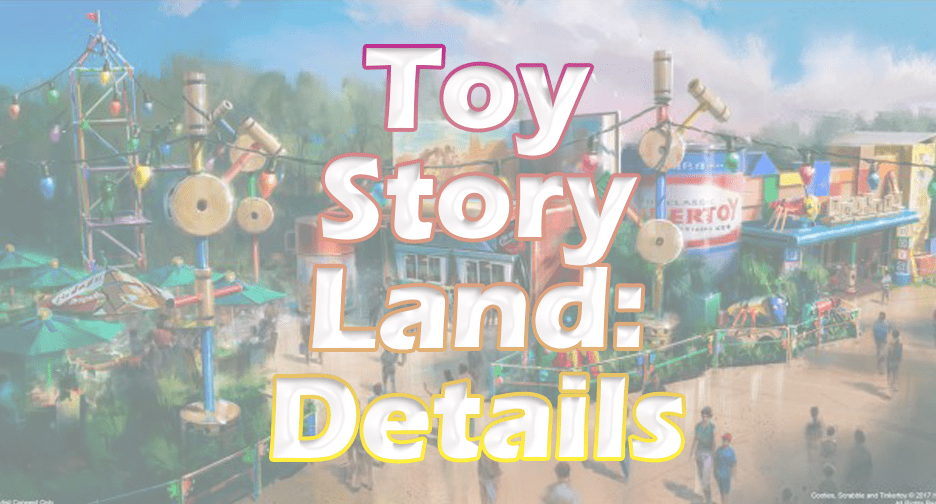 Toy Story Land: All the details and New Pictures of Woody at Entrance