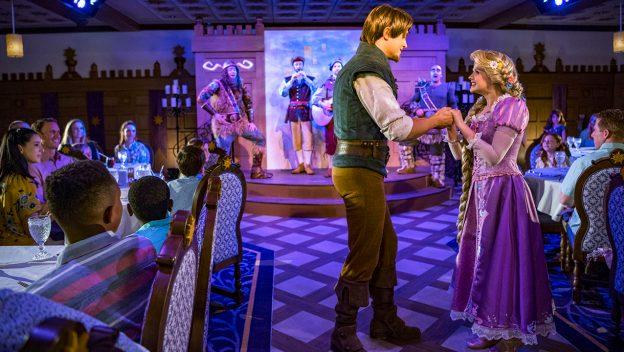 Rapunzel's Royal Table on the Disney Magic looks Spectacular