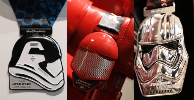 Star Wars 2018 RunDisney Medals