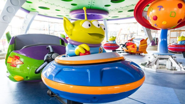 Video of Slinky Dog Dash and Pictures of Alien Swirling Saucers: Toy Story Land