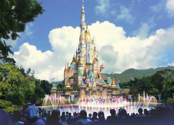 New Renderings of Hong Kong Disneyland's Multi-Year Expansion Plan