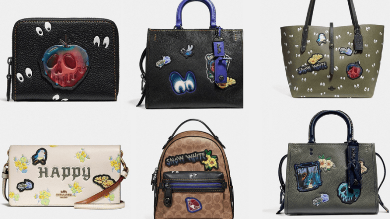 Coach: Disney X Launches a New Signature Line for Snow White