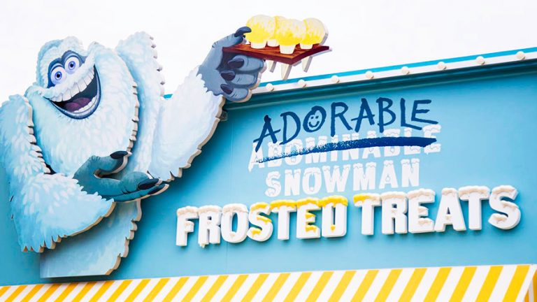 Abominable, I mean Adorable Snowman Frosted Treats Now Open