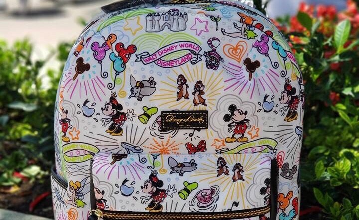 A Disney Dooney and Bourke Full Sized Sketch Backpack Surprise Release