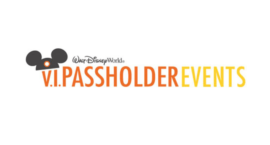 V.I.Passholder Events Registration is Now OPEN