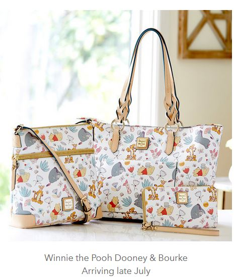 Winnie the Pooh Dooney and Bourke Collection Releasing Late July