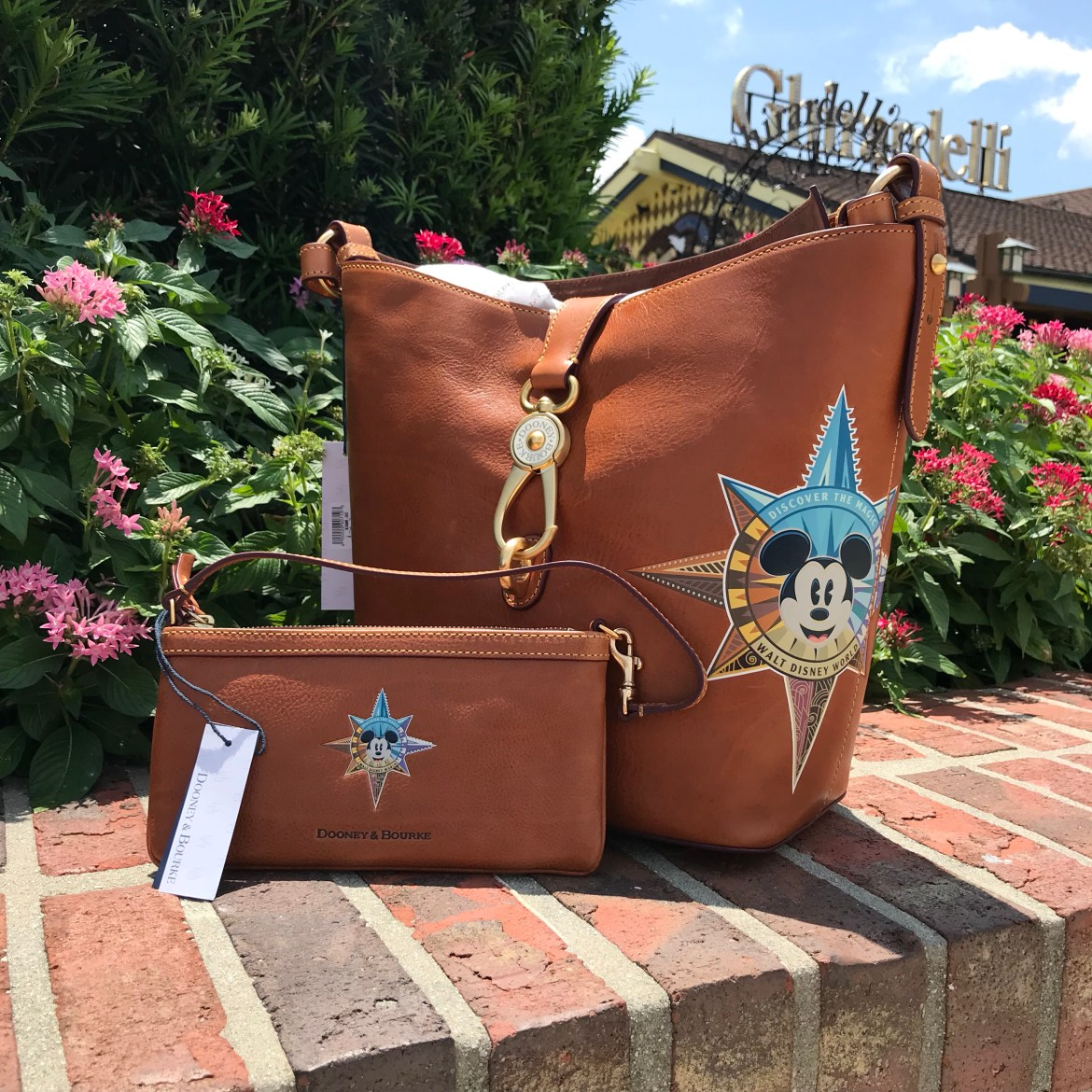 Dooney and Bourke All Leather Compass Set