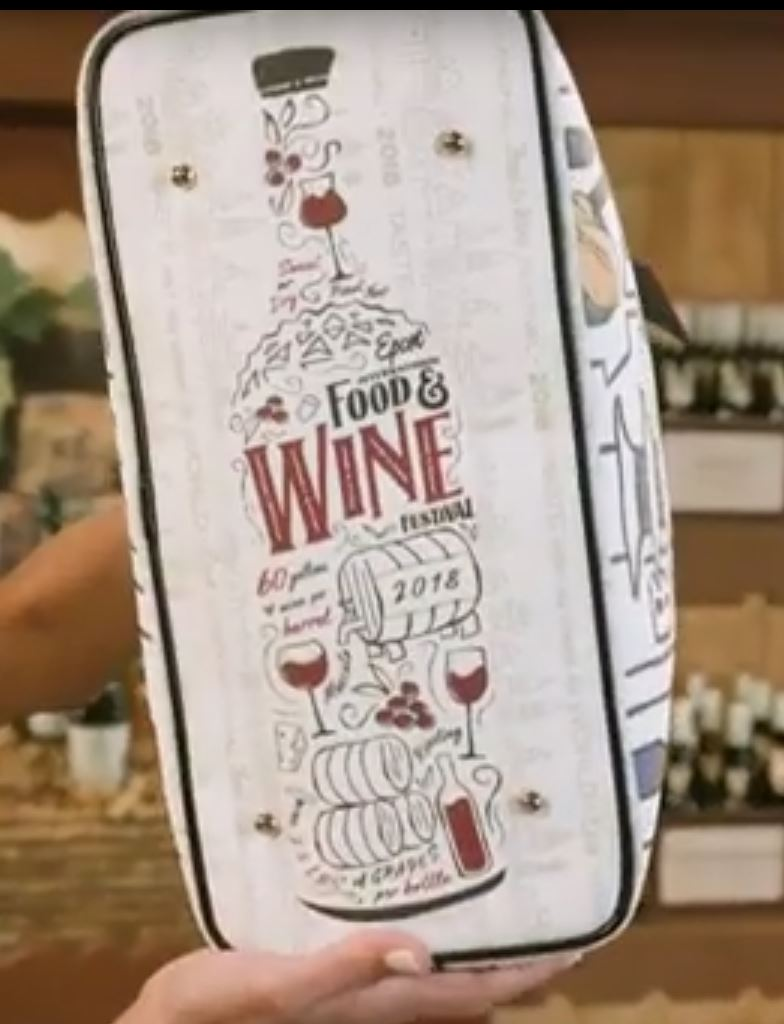 2018 Food and Wine Festival Dooney and Bourke Bottom of Bag