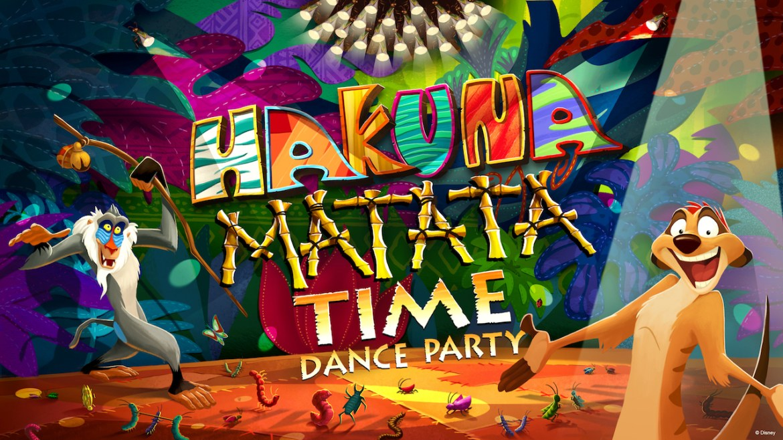 Timon and Rafiki Will Host the Hakuna Matata Time Dance Party