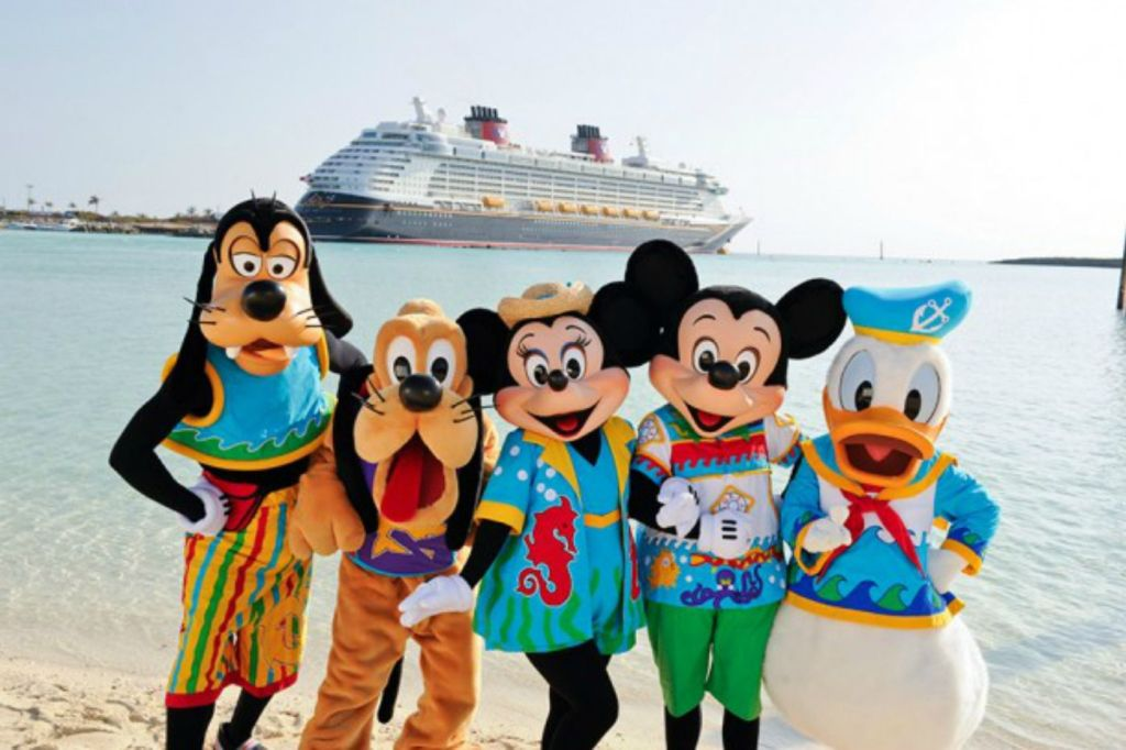Disney Cruise Line Fab 5 Characters