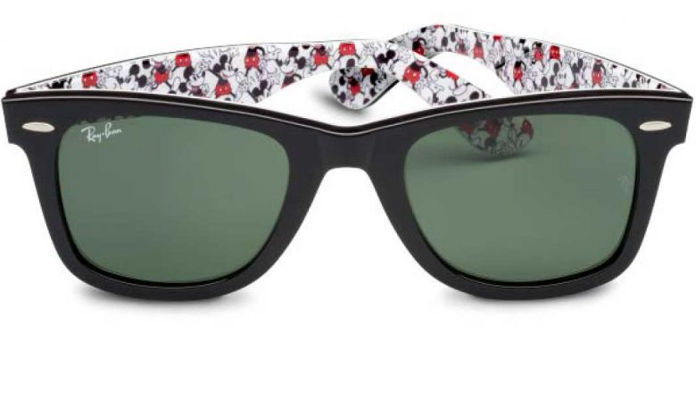 New Limited Edition Ray-Ban Sunglasses Releasing for Mickey's 90th Birthday