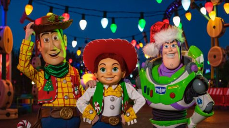 Sneak Peak: Our Favorite Toy Story Friends Dressed Up for Christmas at WDW