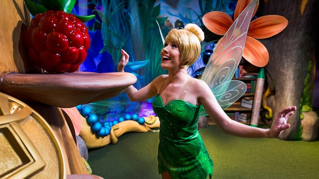 Tinkerbell Says Goodbye to Live PhotoPass Photographers