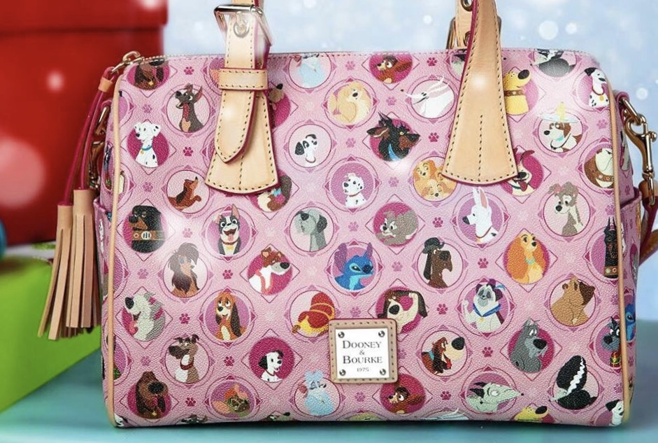 Dooney and Bourke Disney Dogs are Back This Time in Pink
