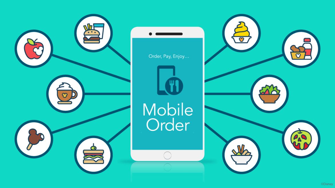 Mobile Ordering has New Look for Disneyland and Walt Disney World