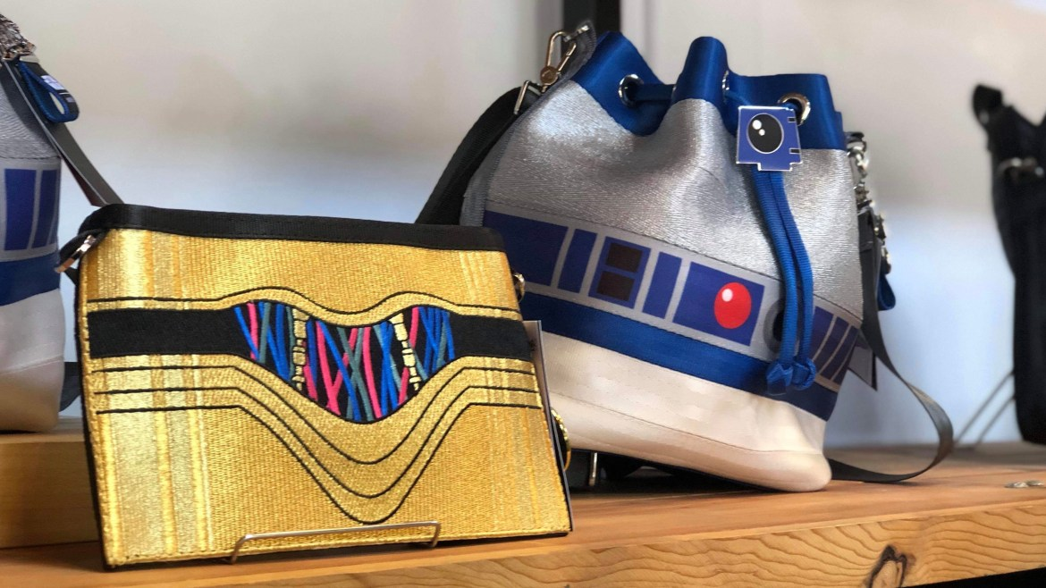 The Force is Strong with Harveys Seatbelt Bags