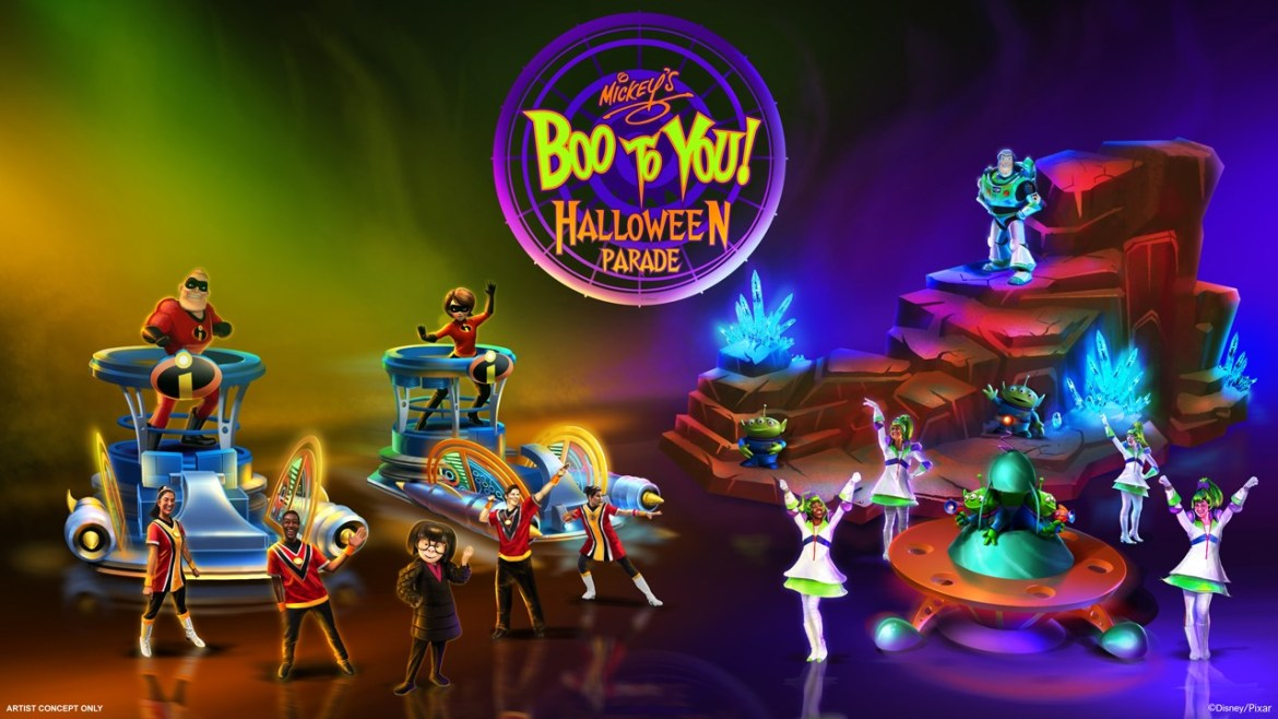 Exciting Additions and Enhancements Coming to 'Mickey's Boo to You Halloween Parade' at Magic Kingdom Park